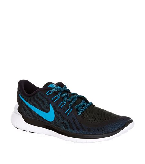 nike free shoes nike free 5 0 running shoe in black for lyst