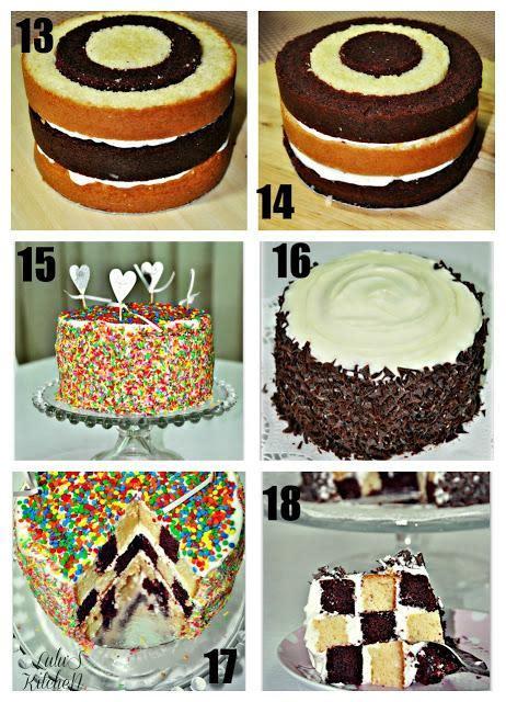decorar tartas con virutas tarta ajedrez paso a paso paperblog