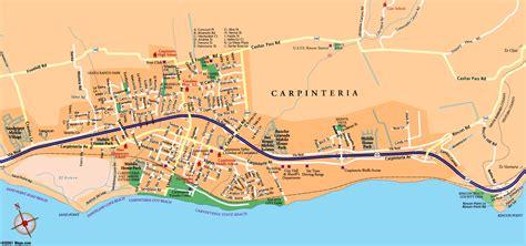 carpinteria california map directions maps driving to carpinteria pacific