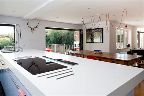 kitchen island downdraft extractor contemporary london wickets contemporary kitchen london by boutique homes