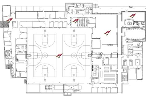 locker room design layout cleveland clinic courts the official site of the
