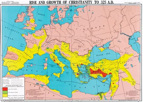 early christianity in lycaonia and adjacent areas from rise and growth of christianity to 325 a d history map