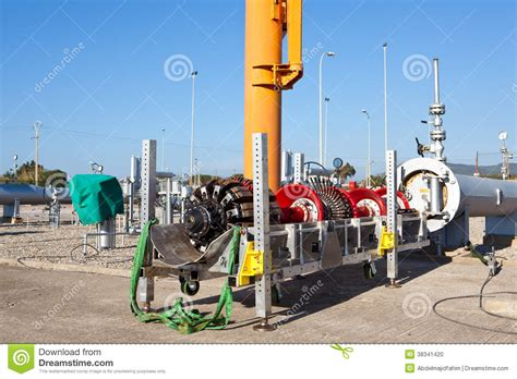 Pipeline Controller by Pipeline Intelligent Pig Stock Photo Image 38341420