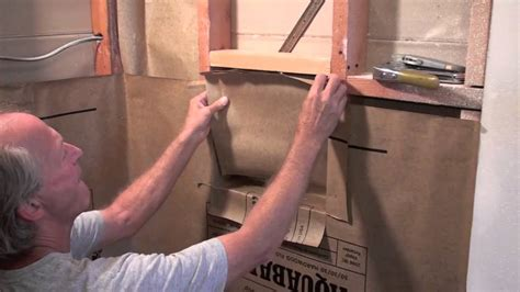 How To Build A Shower Shelf by Rafi Recessed Shower Niche