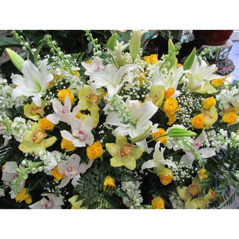 cuscino di cuscino di fiori per funebre