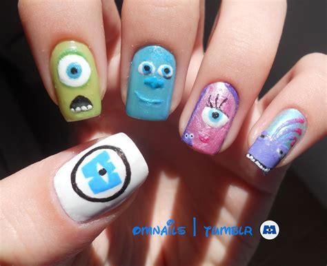 design pics inc omnails monsters inc nail this fancy fingernails