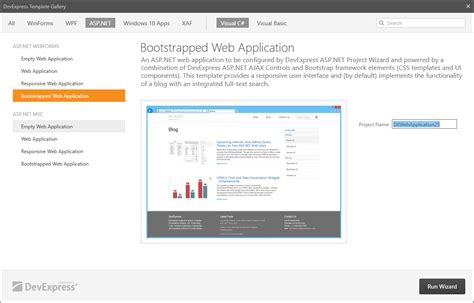100 asp net web application template download free