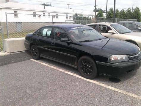 2001 impala gas mileage buy used 2001 chevrolet impala base sedan 4 door 3 4l no