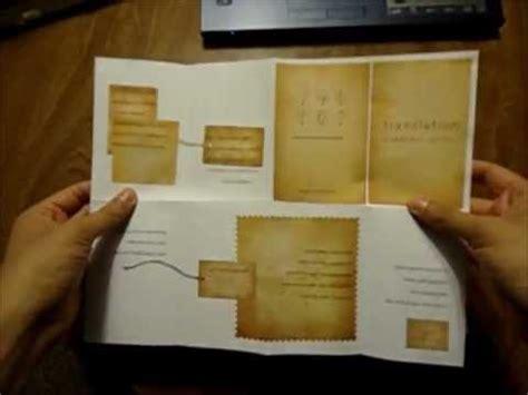 chapbook template how to fold a mini chapbook