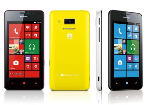 Hp Huawei Ascend W2 Huawei Launches Second Windows Phone 8 The Ascend W2