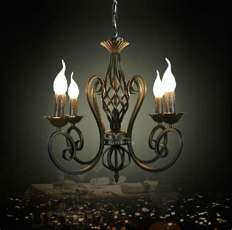lustres deco vintage luminaria decoration wrought iron lustres pendant