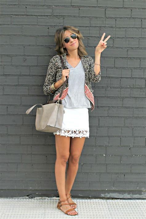 imagenes de faldas blancas largas como combinar una falda blanca 5 looks de primavera