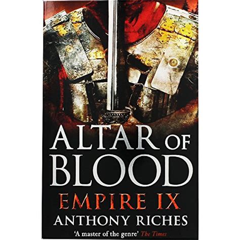 Altar Of Blood Empire anthony riches altar of blood empire ix world of books