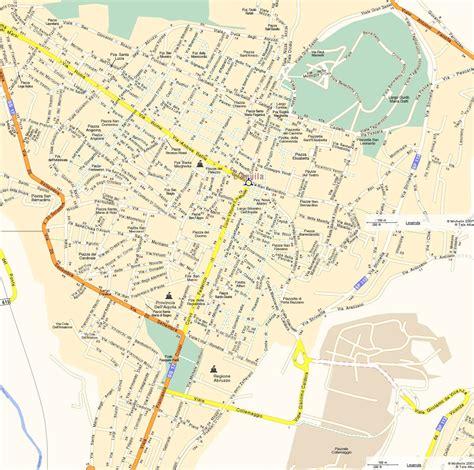 l map l aquila city map 2 mapsof net