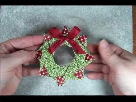 Origami Wreath Ornament - 8 best photos of folded paper wreath ornament origami