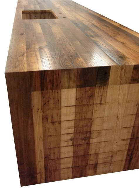 butcher block bar tops waterfall butcher block counter tops with stainless steel