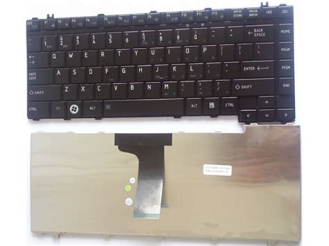Keyboard Laptop Toshiba L510 genuine toshiba satellite l300 l305 l450 l455 l510 laptop keyboard color black