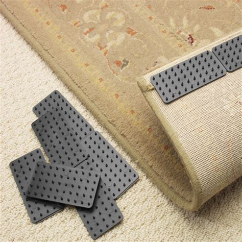 grips for rugs on carpets mat grips x 4 8 12 16 non slip slide anti skid carpet rug hallway runner gripper ebay
