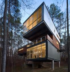 cabin architecture ultramodern cabin creative modernist forest home