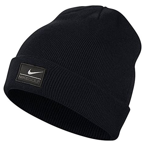 nike cuff knit hat nike mens golf basic knit cuff beanie hats