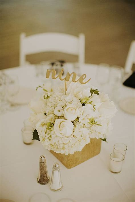 Dreamy Black And White Wedding   Weddings Flower