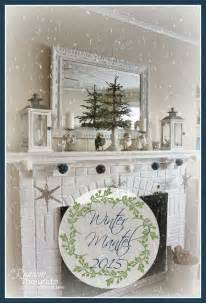 17 best ideas about white mantel on fireplace