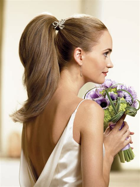 bridal hairstyles ponytail hairstyle ideas for destination wedding weddingelation