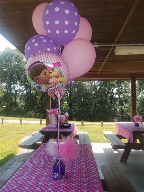 Doc Mcstuffin Decorations by Doc Mcstuffins Birthday Ideas Photo 1 Of 49