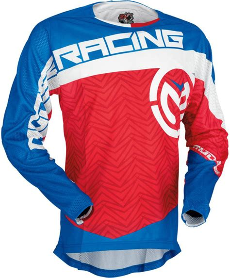 motocross gear usa moose racing s7 sahara jersey motocross jerseys red blue