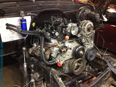 ls engine swap  ol blue  chevy truck part