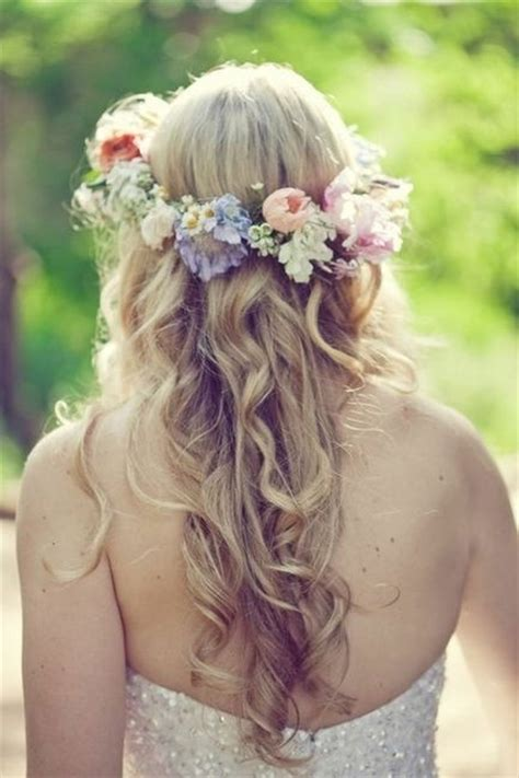 wedding hairstyles wedding flower ideas part 20 in wedding 30 floral bridal crowns headpiece ideas wedding