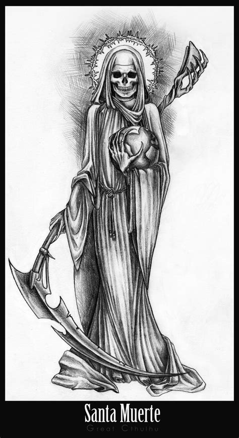 17 best ideas about santa muerte on pinterest grim