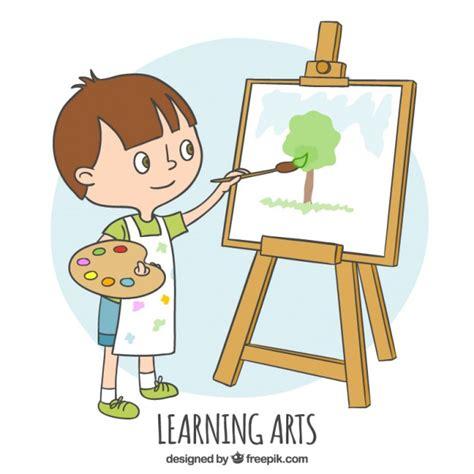 wie zu malen esszimmer stühle kleiner junge zu lernen wie zu malen der
