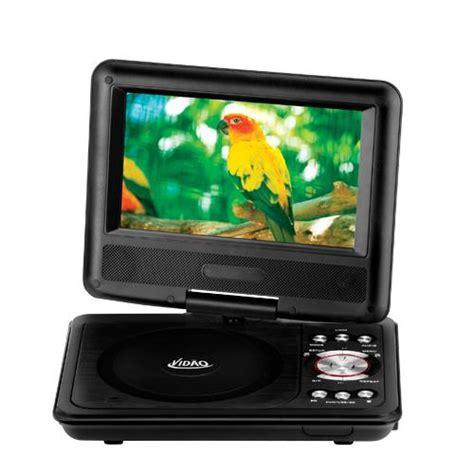 portable dvd player video format vidao pdv707kit 7 quot portable dvd player usb port to