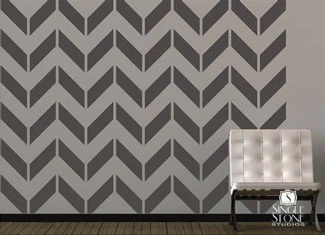 chevron template for walls chevron pattern wall decals vinyl stickers vinyls