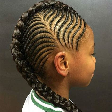 corn row kids cute trendy cornrow styles for lil divas wedding