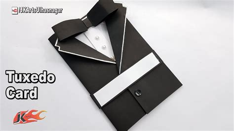 Tuxedo Card Template by S Day Card Idea How To Make Suit Tuxedo Card Jk