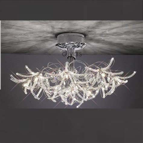 diyas uk kenzo il30880 polished chrome 12 light
