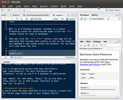 knitr tutorial latex r is it possible to use rstudio to translate from rmd