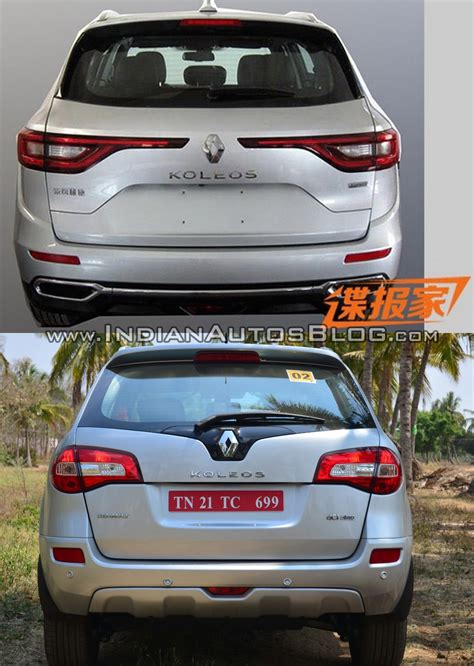 renault koleos 2016 2016 renault koleos vs 2014 renault koleos rear indian
