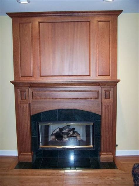 Cherry Wood Fireplace Mantels by Cherry Fireplace Mantel And Surround By Jeff Heath
