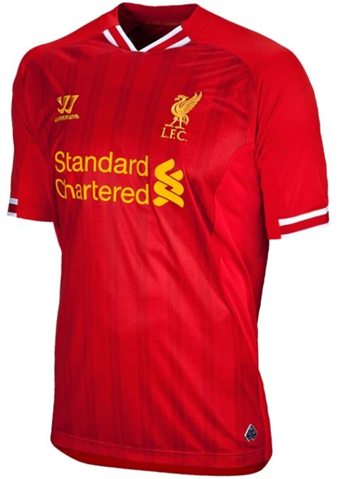 liverpool kit new liverpool kit liverpool fc shirt uksoccershop new liverpool kit 13 14 warrior sports liverpool home
