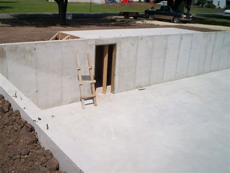 concrete safe room image detail for should safe rooms be required in new construction corvette forum my home