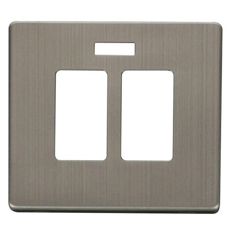 stainless steel sink cover plate click definity scp324ss sink and bath switch with neon