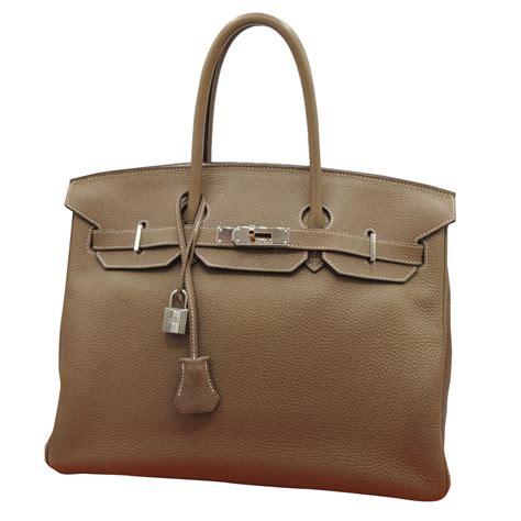 Hermes Birkin 35 Togo Original Leather 1 herm 232 s hermes birkin 35 togo handbags leather beige ref