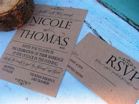 how to make a simple wedding invitation card wedding invitations simple and bold come by sweetinvitationco