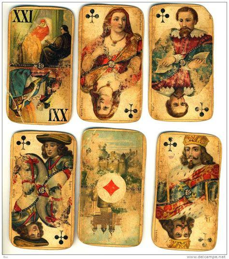 cards antique 62 antique cards b dondorf 62 carte da gioco come