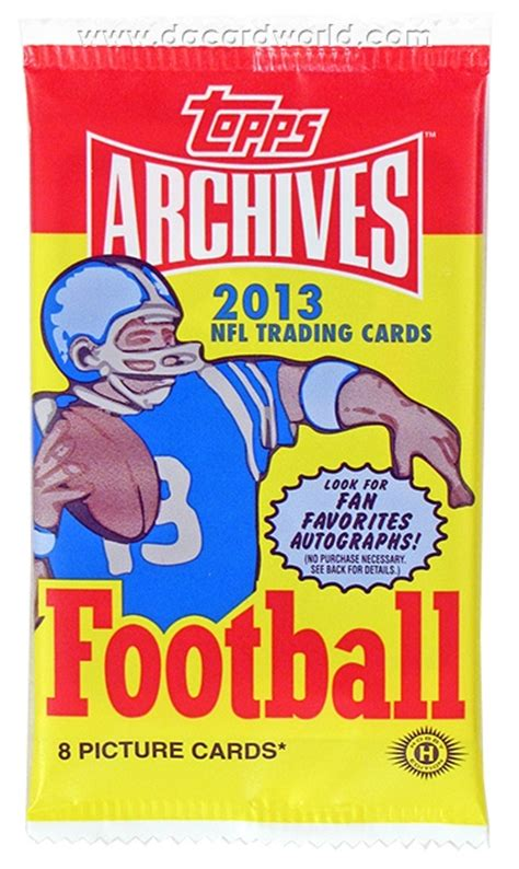 2013 topps archives football blends and new in stylish