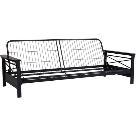 Metal Frame Futon Bed Black Metal Futon Frame Bm Furnititure