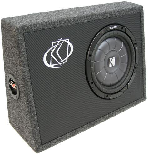 car audio single  kicker cvt subwoofer loaded